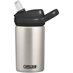 CamelBak eddy+ Kids Single Wall Borraccia inossidabile 400ml Bambino, bare steel
